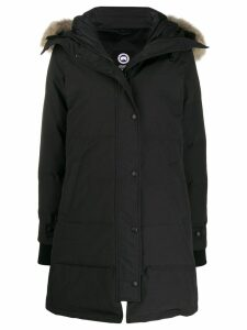 Canada Goose hooded padded parka - Black