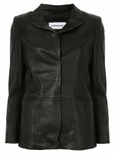 Sylvie Schimmel single-breasted fitted blazer - Black