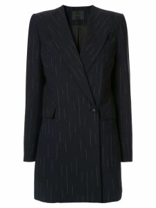 Dion Lee pinstripe blazer dress - Blue