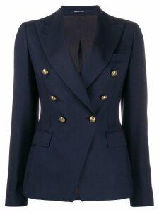 Tagliatore military style blazer - Blue