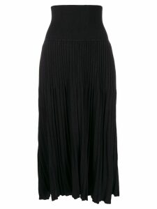 Sminfinity pleated skirt - Black