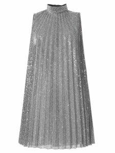Dondup sleeveless pleated dress - Silver