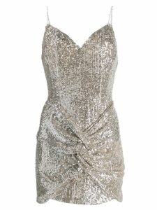 Magda Butrym sequin-embellished mini dress - Neutrals