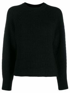 Diane von Furstenberg round neck jumper - Black