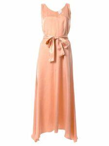 Forte Forte chic satin belted dress - Pink