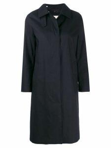 Mackintosh DUNKELD Black RAINTEC Cotton 3/4 Coat LM-1018FD