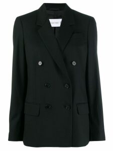 Calvin Klein formal double-breasted blazer - Black