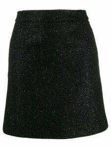 Amiri zip-up short skirt - Black