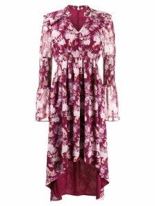 Three Floor Felicity floral print dress - Purple