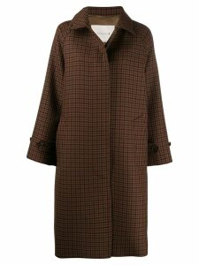 Mackintosh BLACKRIDGE Brown Check Wool Oversized Overcoat LM-070F