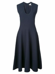 Casasola ribbed flared dress - Blue