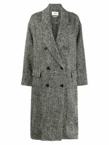 Isabel Marant Étoile oversized double breasted coat - Black