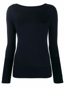 Snobby Sheep button cuff jumper - Blue
