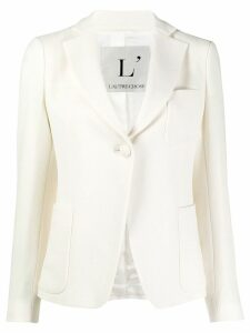 L'Autre Chose wool single-breasted blazer - White