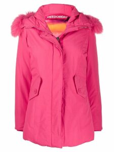 Freedomday chamois padded coat - Pink