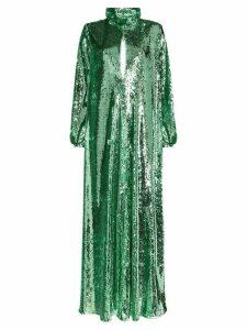 Racil Barbara sequinned maxi dress - Green
