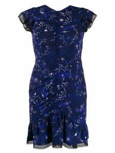 Three Floor Afterglow star print dress - Blue