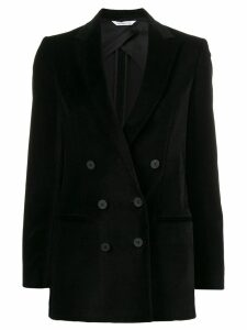 Tonello fitted velvet blazer - Black