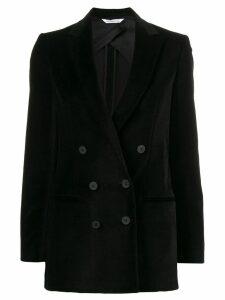 Tonello fitted velvet blazer - Black