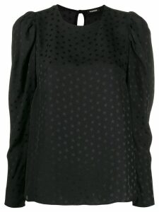 P.A.R.O.S.H. star print blouse - Black