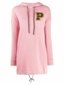 Puma hooded sweatshirt style dress - Pink