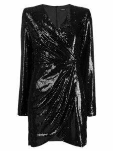 P.A.R.O.S.H. sequinned mini dress - Black