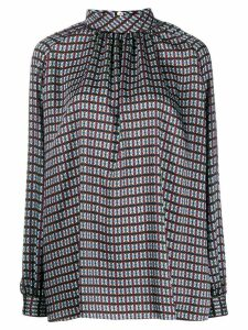 Mulberry Hettie dotted blouse - Grey