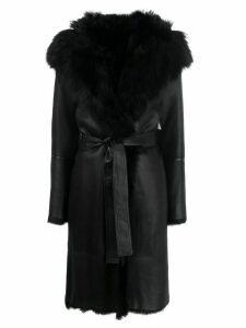 Joseph reversible leather coat - Black