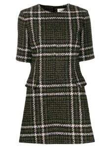Mulberry Jeanna checked dress - Green