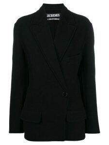 Jacquemus Sabe double-breasted blazer - Black