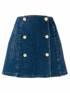 Stella McCartney A-line denim skirt - Blue