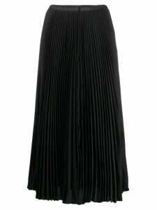 Joseph high-waisted pleated skirt - Black