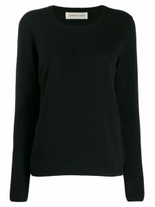 Lamberto Losani colour block jumper - Black