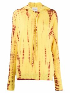 Fine Edge Butters tie-dye hoody - Yellow