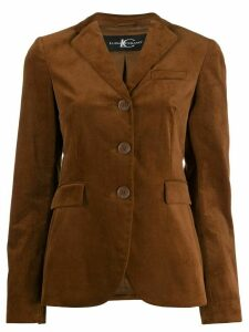 Luisa Cerano single-breasted blazer - Brown