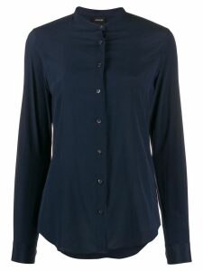 Aspesi plain fitted shirt - Blue