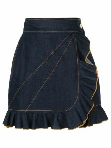 Karen Walker Delta skirt - Blue