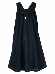 Karen Walker Cascade denim dress - Blue