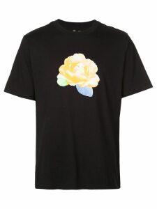 Opening Ceremony flower print T-shirt - Black