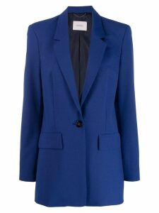 Dorothee Schumacher fitted single-breasted blazer - Blue