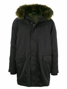 Opening Ceremony padded parka coat - Black