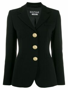 Boutique Moschino slim fit blazer - Black