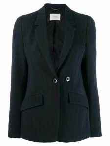 Dorothee Schumacher fitted pinstriped blazer - Blue