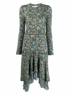 See By Chloé floral print dress - Green