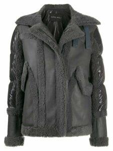 Cara Mila Jo padded-panel jacket - Grey