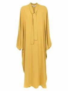 Egrey long dress - Yellow