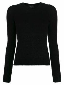 Andrea Ya'aqov round neck jumper - Black