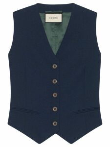 Gucci tailored waistcoat - Blue
