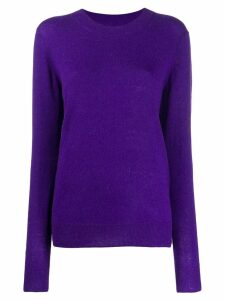 Isabel Marant Étoile round neck sweater - PURPLE
