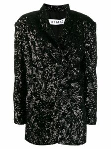 Almaz sequin blazer - Black
